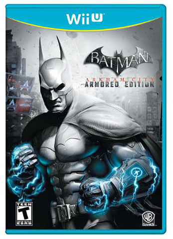 Batman - Arkham City (Armored Edition) (NINTENDO WII U) NINTENDO WII U Game