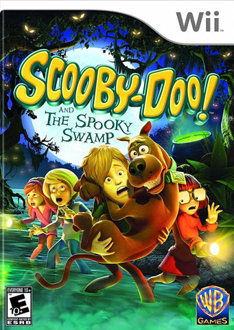 Scooby-Doo and the Spooky Swamp (NINTENDO WII) NINTENDO WII Game