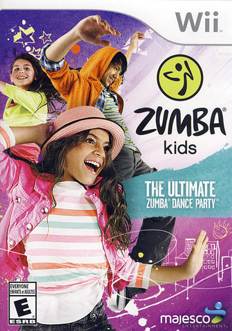 Zumba Kids - The Ultimate Zumba Dance Party (NINTENDO WII) NINTENDO WII Game