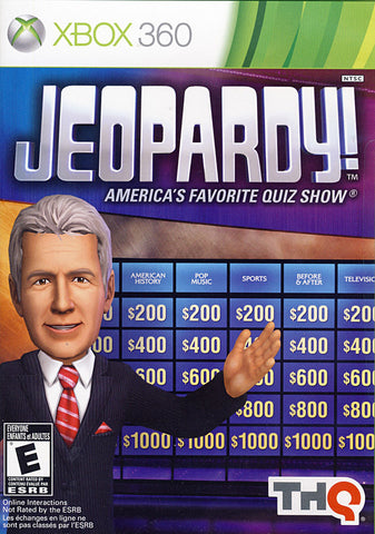 Jeopardy! (XBOX360) XBOX360 Game