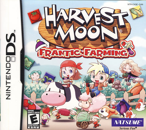 Harvest Moon - Frantic Farming (DS) DS Game