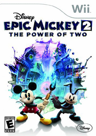 Disney Epic Mickey 2 - The Power of Two (Bilingual Cover) (NINTENDO WII) NINTENDO WII Game