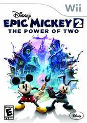 Disney Epic Mickey 2 - The Power of Two (Bilingual Cover) (NINTENDO WII)
