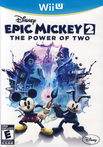 Disney Epic Mickey 2 - The Power of Two (Bilingual Cover) (NINTENDO WII U) NINTENDO WII U Game