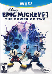 Disney Epic Mickey 2 - The Power of Two (Bilingual Cover) (NINTENDO WII U)
