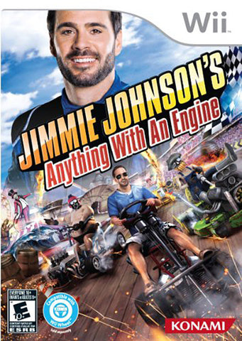Jimmie Johnson s - Anything With An Engine (Trilingual Cover) (NINTENDO WII) NINTENDO WII Game