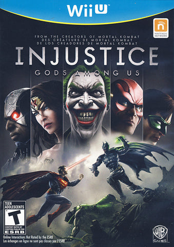 Injustice - Gods Among Us (NINTENDO WII U) NINTENDO WII U Game