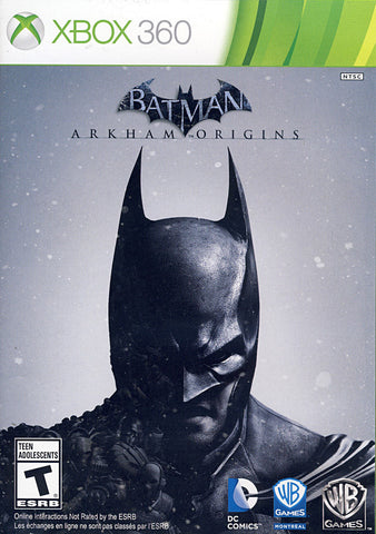 Batman - Arkham Origins (XBOX360) XBOX360 Game
