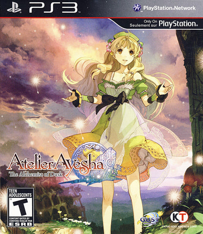 Atelier Ayesha - The Alchemist Of Dusk (PLAYSTATION3) PLAYSTATION3 Game