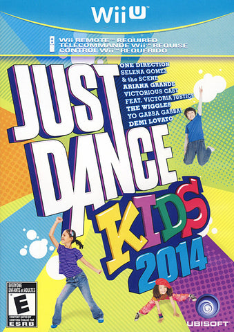 Just Dance Kids 2014 (NINTENDO WII U) NINTENDO WII U Game
