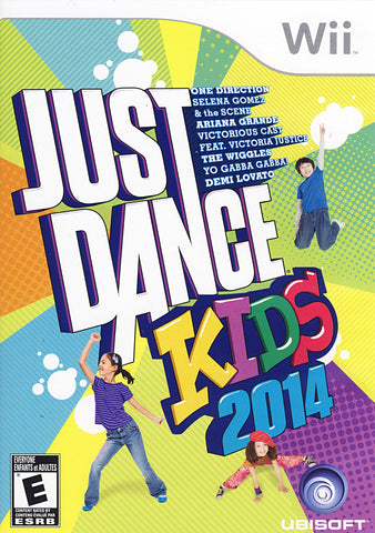 Just Dance Kids 2014 (Trilingual Cover) (NINTENDO WII) NINTENDO WII Game