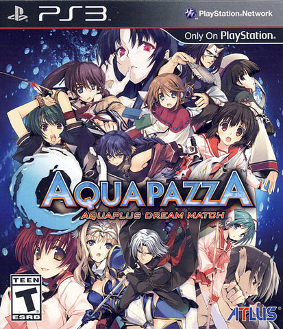 AquaPazza - Aquaplus Dream Match (PLAYSTATION3) PLAYSTATION3 Game