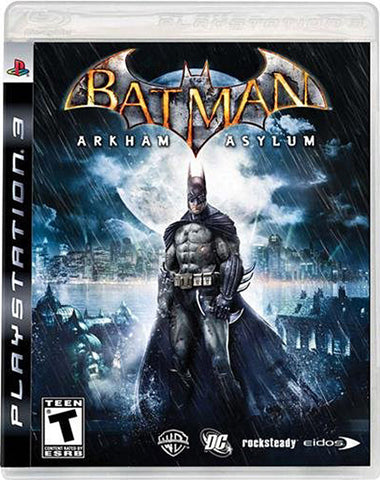 Batman - Arkham Asylum (PLAYSTATION3) PLAYSTATION3 Game