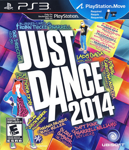 Just Dance 2014 (Trilingual Cover) (PLAYSTATION3) PLAYSTATION3 Game