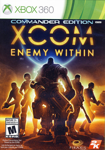 XCOM - Enemy Within (Bilingual Cover) (XBOX360) XBOX360 Game