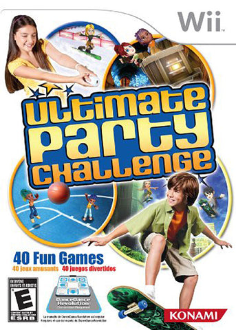 Ultimate Party Challenge (NINTENDO WII) NINTENDO WII Game