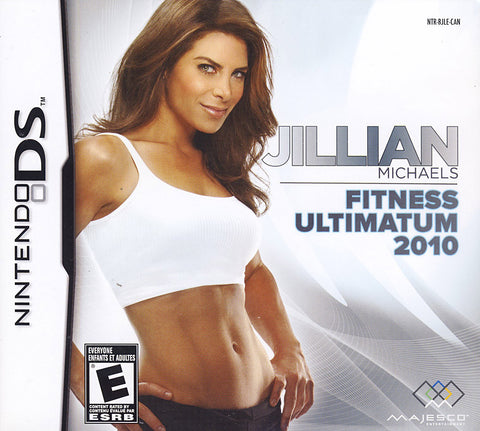 Jillian Michaels - Fitness Ultimatum 2010 (Bilingual Cover) (DS) DS Game