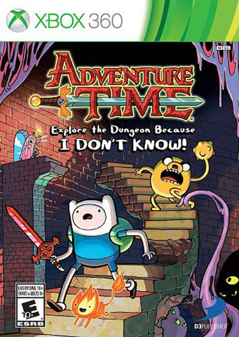 Adventure Time - Explore the Dungeon Because I DON T KNOW! (Trilingual Cover) (XBOX360) XBOX360 Game