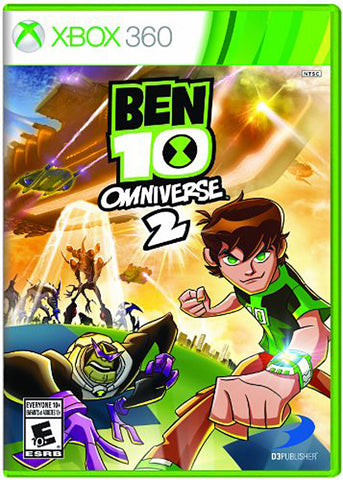 Ben 10 - Omniverse 2 (Trilingual Cover) (XBOX360) XBOX360 Game