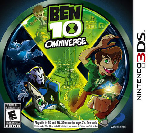 Ben 10 - Omniverse (Trilingual Cover) (3DS) 3DS Game