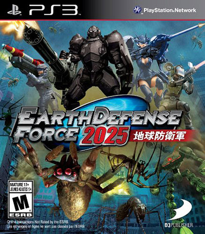 Earth Defense Force 2025 (Trilingual Cover) (PLAYSTATION3) PLAYSTATION3 Game