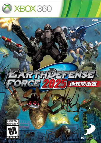 Earth Defense Force 2025 (Trilingual Cover) (XBOX360) XBOX360 Game