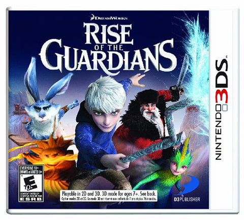 Rise of the Guardians (Trilingual Cover) (3DS) 3DS Game