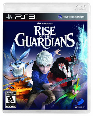 Rise of the Guardians (Trilingual Cover) (PLAYSTATION3) PLAYSTATION3 Game