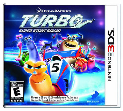Turbo - Super Stunt Squad (Trilingual Cover) (3DS) 3DS Game