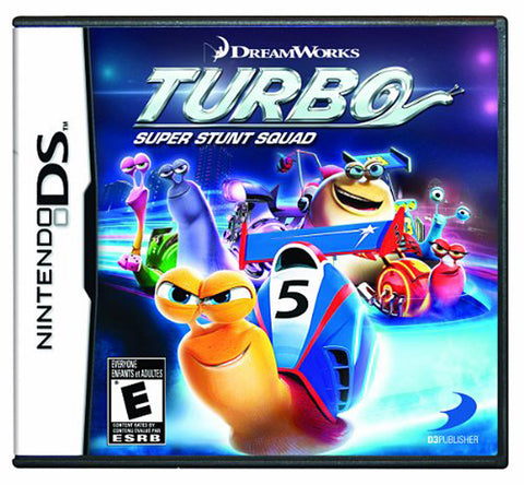 Turbo - Super Stunt Squad (Trilingual Cover) (DS) DS Game