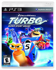 Turbo - Super Stunt Squad (Trilingual Cover) (PLAYSTATION3)