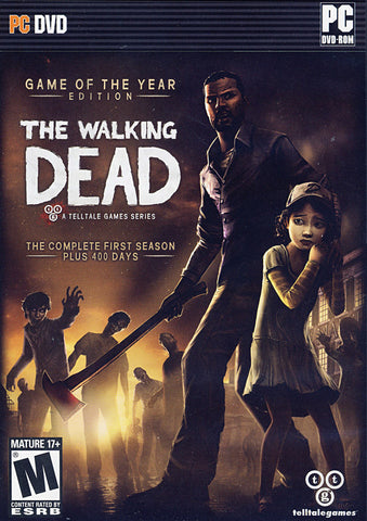 The Walking Dead (Game of the Year Edition) (PC) PC Game
