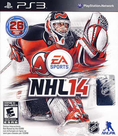 NHL 14 (Bilingual Cover) (PLAYSTATION3) PLAYSTATION3 Game