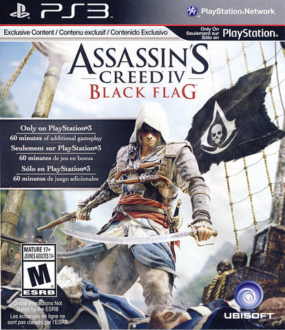 Assassin s Creed IV - Black Flag (Trilingual Cover) (PLAYSTATION3) PLAYSTATION3 Game