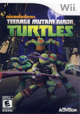 Teenage Mutant Ninja Turtles (NINTENDO WII) NINTENDO WII Game