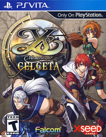 Ys - Memories of Celceta (PS VITA) PS VITA Game