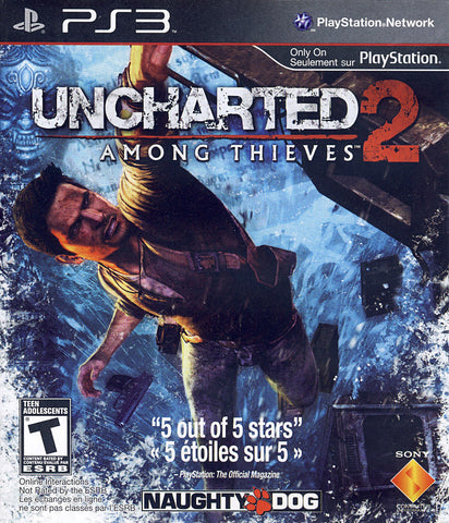 Uncharted 2 - Among Thieves (PLAYSTATION3) PLAYSTATION3 Game