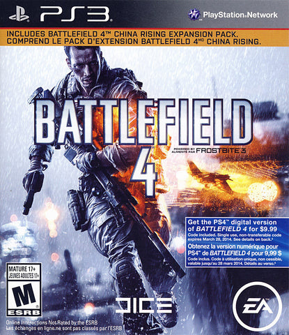 Battlefield 4 (PLAYSTATION3) PLAYSTATION3 Game