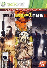 2K Rogues and Outlaws Collection (Spec Ops: The Line,Borderlands 2, Mafia II) (XBOX360)