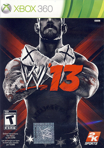 WWE 13 (Bilingual Cover) (XBOX360) XBOX360 Game