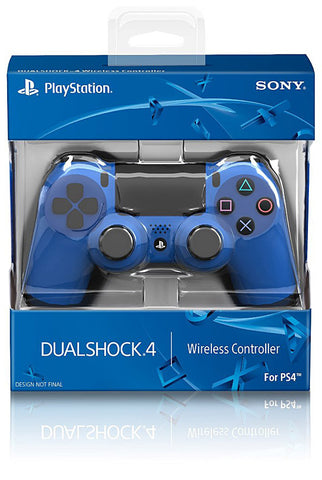 PlayStation 4 Dualshock 4 Wireless Controller - Wave Blue (Accessory) (PLAYSTATION4) PLAYSTATION4 Game