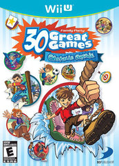 Family Party 30 Great Games - Obstacle Arcade (Trilingual Cover) (NINTENDO WII U)