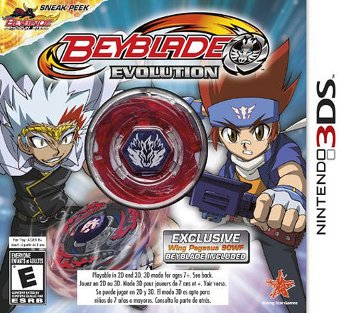 BeyBlade - Evolution with Wing Pegasus (Collector s Edition) (Trilingual Cover) (3DS) 3DS Game