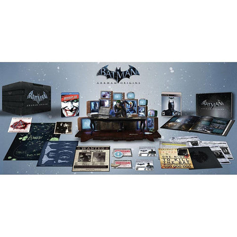 Batman - Arkham Origins (Collector s Edition) (PLAYSTATION3) PLAYSTATION3 Game