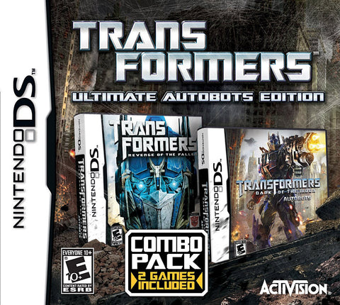 Transformers Ultimate Autobots Edition (Combo Pack 2 Games Included) (Bilingual Cover) (DS) DS Game