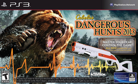 Cabela s Dangerous Hunts 2013 (Bundle) (PLAYSTATION3) PLAYSTATION3 Game