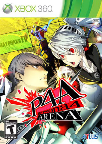 Persona 4 Arena (Bilingual Cover) (XBOX360) XBOX360 Game