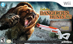 Cabela s Dangerous Hunts 2013 (Bundle) (Bilingual Cover) (NINTENDO WII)