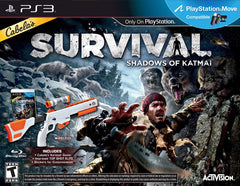 Cabelas Survival - Shadows of Katmai With Gun (Bundle) (Bilingual Cover) (PLAYSTATION3)