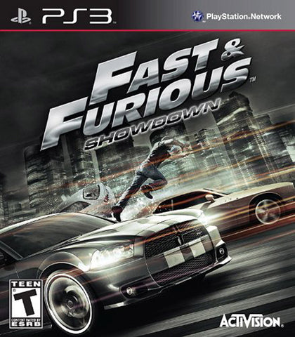 Fast and Furious - Showdown (Bilingual Cover) (PLAYSTATION3) PLAYSTATION3 Game